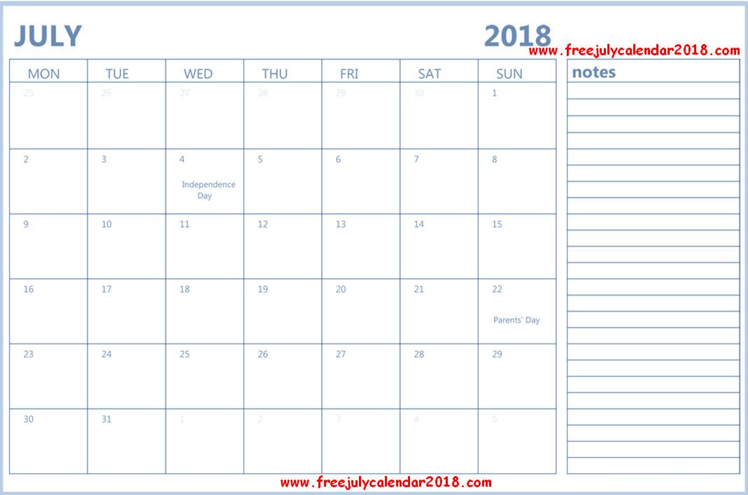 july calendar 2018 editable editable july 2018 calendar