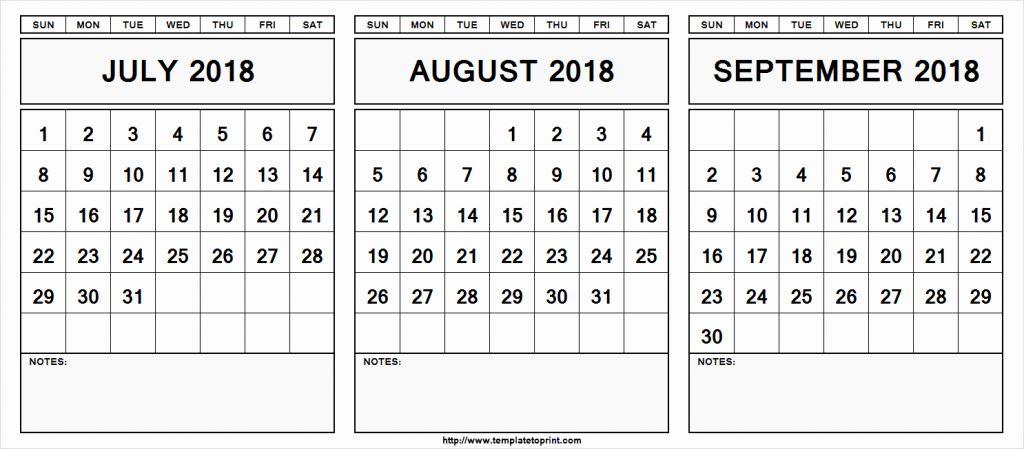 July August September 2019 Calendar July Month Calendar 2019 Printable