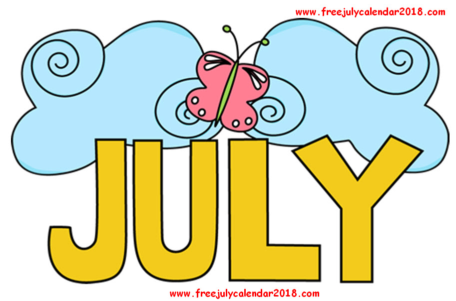 July Images Clipart