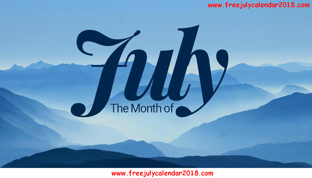 Month of July Images