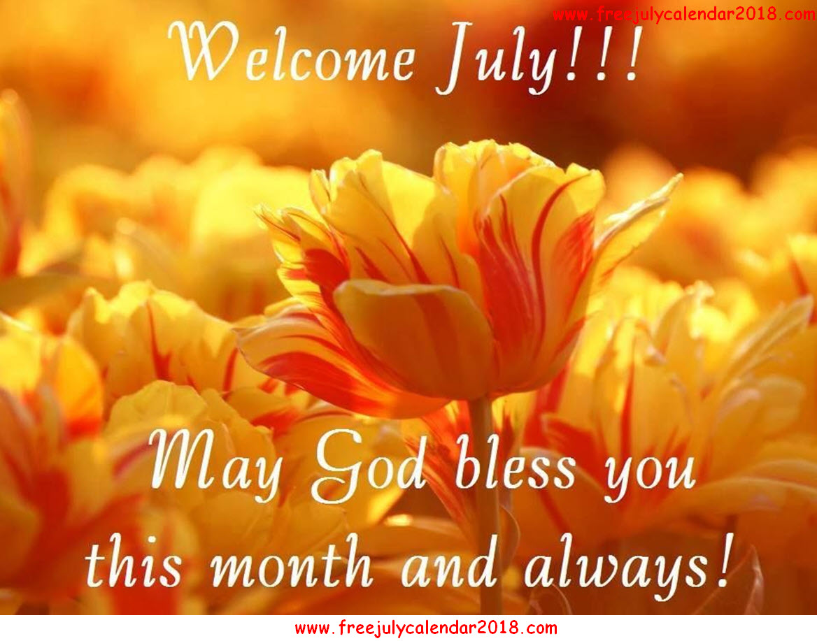 Welcome July Flowers