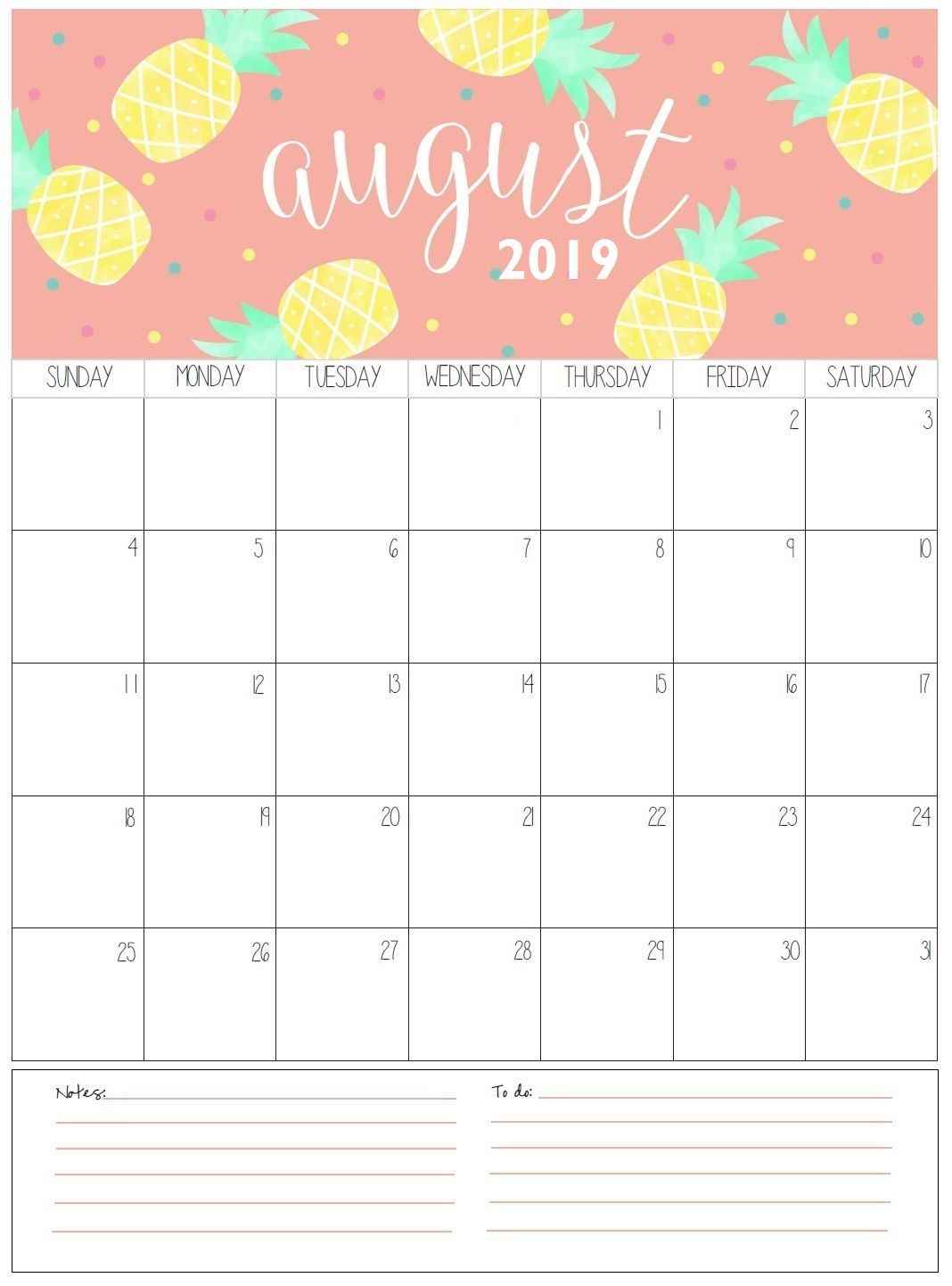graphic relating to Printable Monthly Calendar August referred to as ✅ Blank August 2019 Calendar Printable Absolutely free Obtain