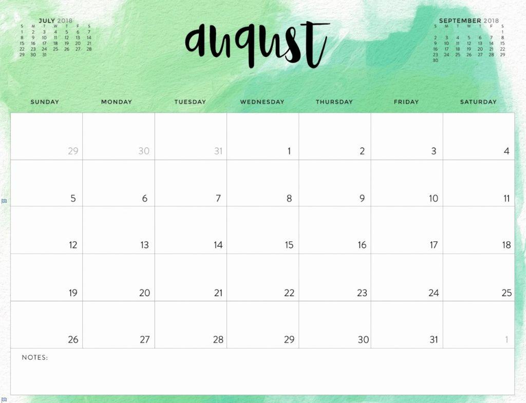graphic regarding Cute Calendar Printable identified as ✅ Blank August 2019 Calendar Printable Cost-free Obtain