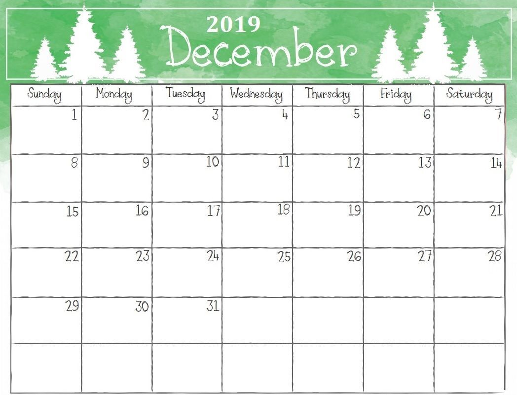 photo relating to Printable Calendar December Pdf identified as Printable December 2019 Calendar PDF, Phrase, Excel Template