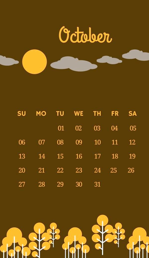 October 2019 Beautiful iPhone Wallpaper