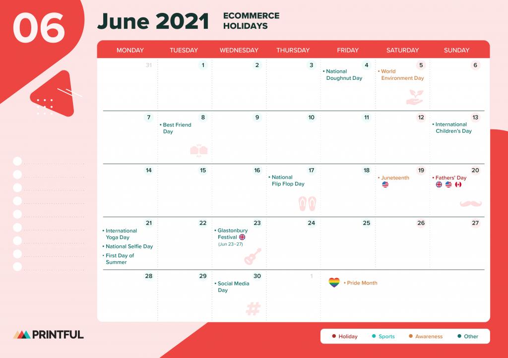 June 2021 Calendar NZ