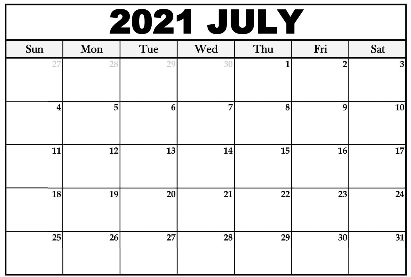 July 2021 Holidays For Singapore