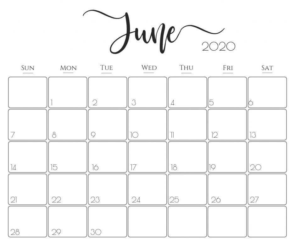 June 2021 Wall Calendar Floral Wallpaper